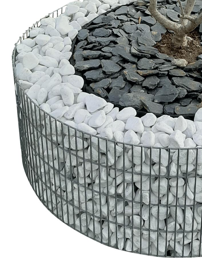Jardinière cylindrique